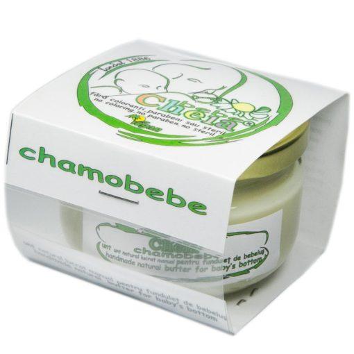 Chamobebe unt pentru bebe cu ulei de musetel