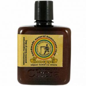 Honeygel sapun lichid cu miere