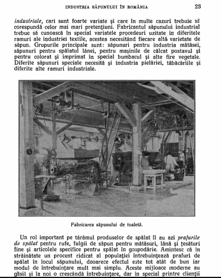 istoria sapunului din romania