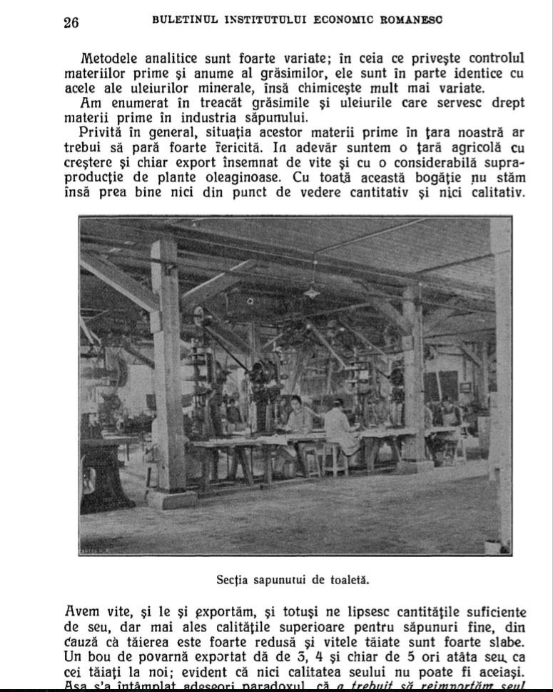 Industria sapunului din Romania