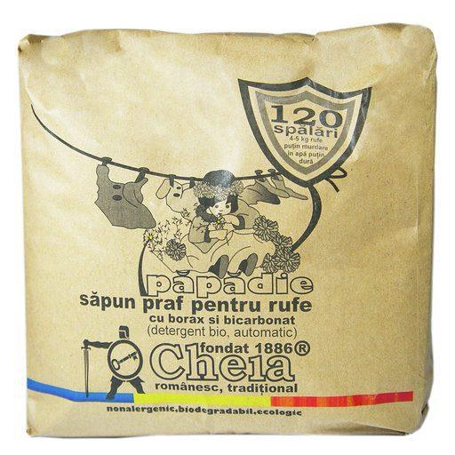 Papadie sapun praf pentru rufe (detergent bio, automatic)