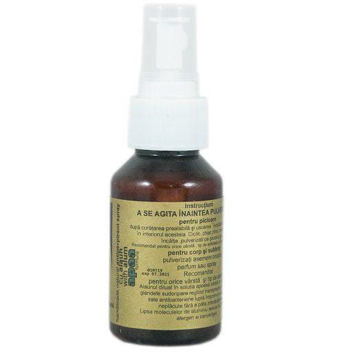 Spray antiperspirant natural Apaa
