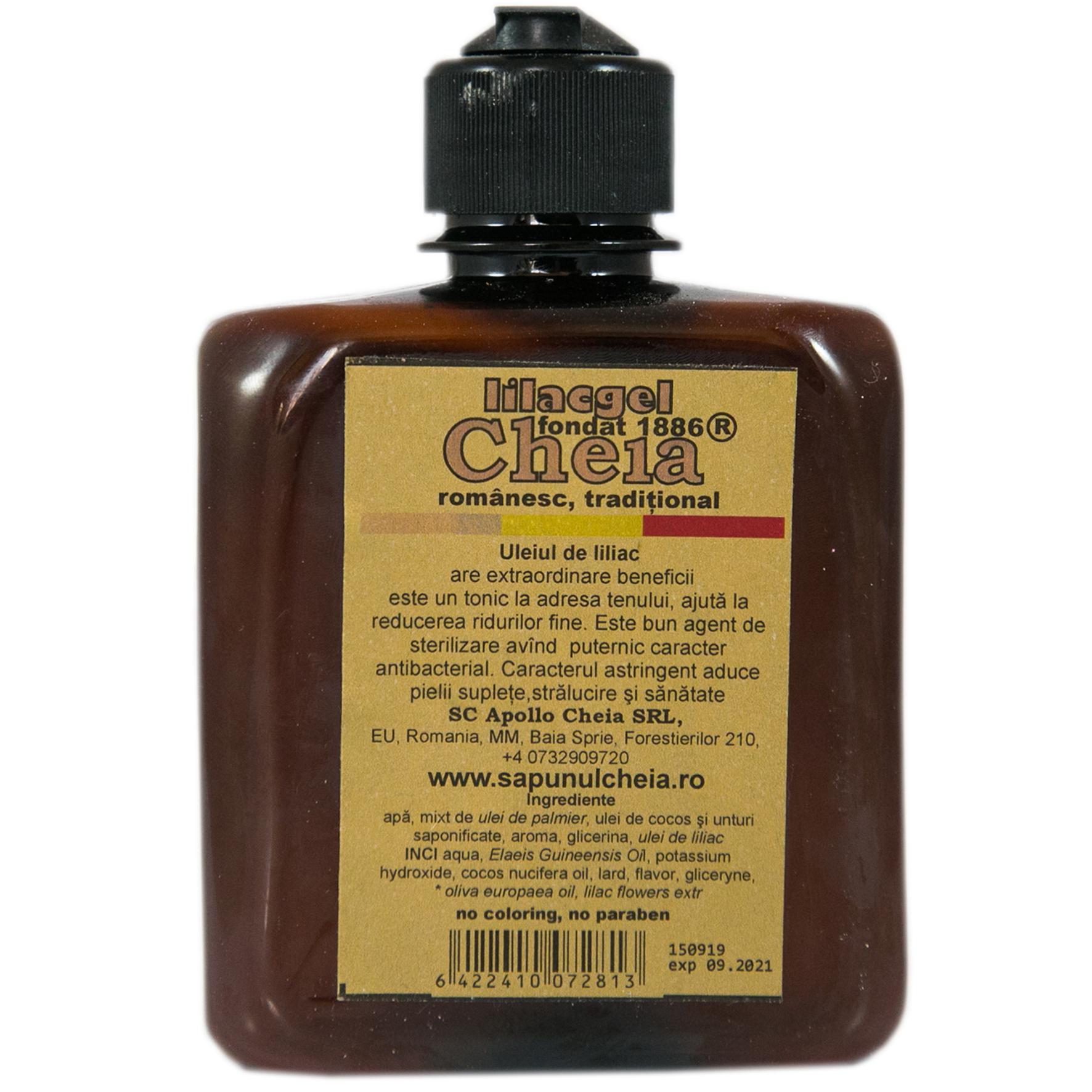 Lilacgel sapun lichid cu ulei de liliac