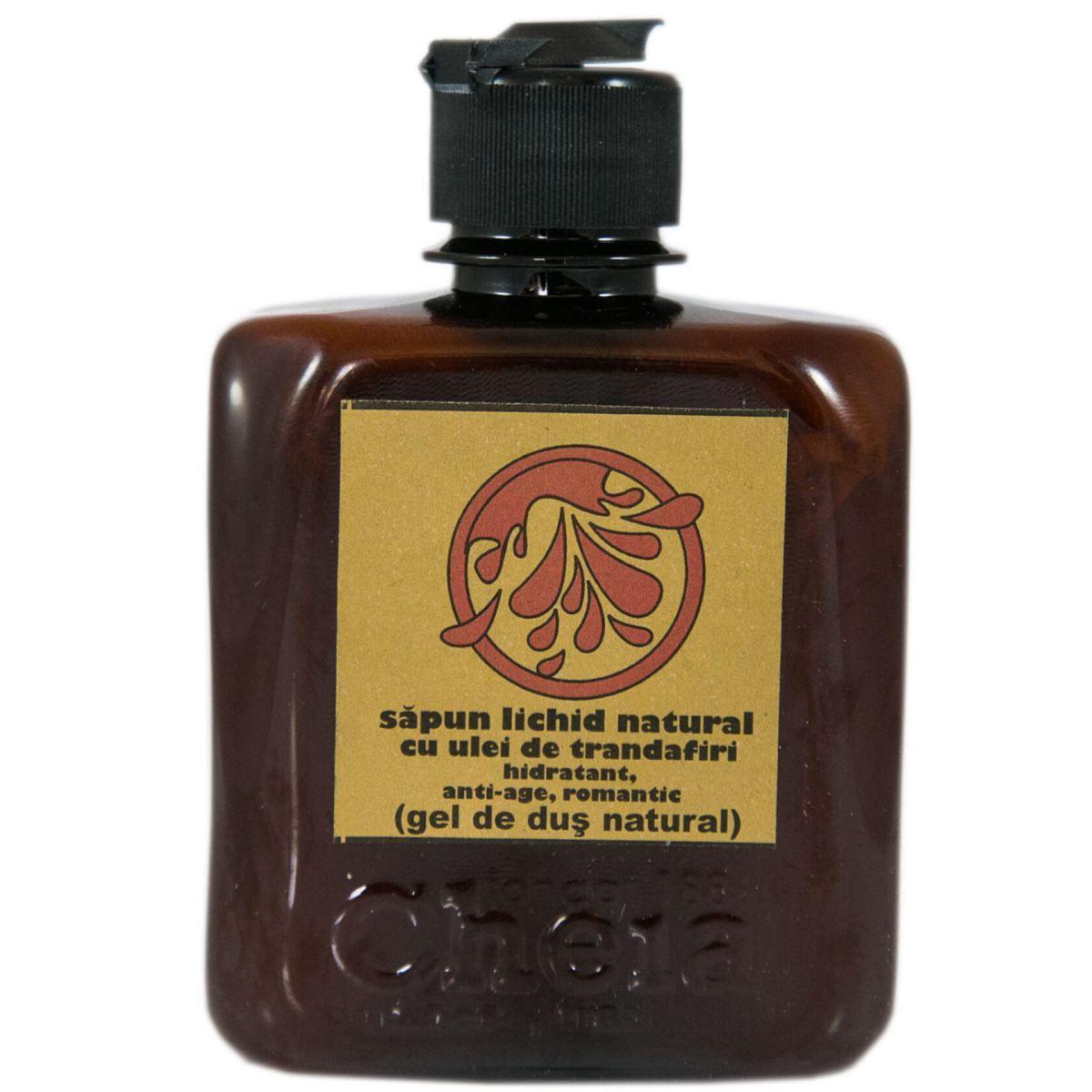 Vanillagel sapun lichid cu ulei de vanilie