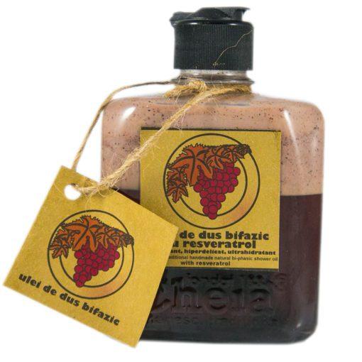 ulei de dus cu resveratrol