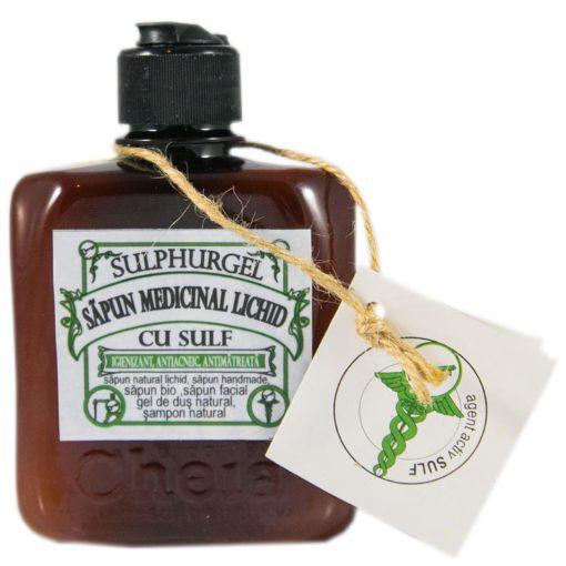 sapun medicinal lichid cu sulf