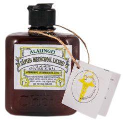 sapun medicinal lichid cu alaun