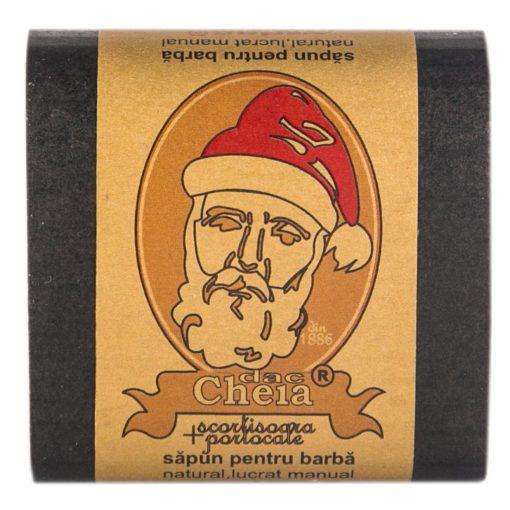 sapun pentru barba scortisoara si portocale