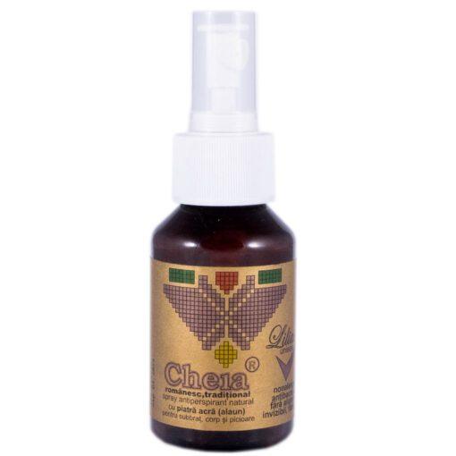spray antiperspirant natural, sapunul Cheia