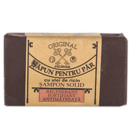 sapun pentru par cu ulei de ricin ( sampon solid)