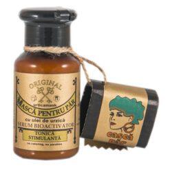 masca pentru par cu ulei de urzica
